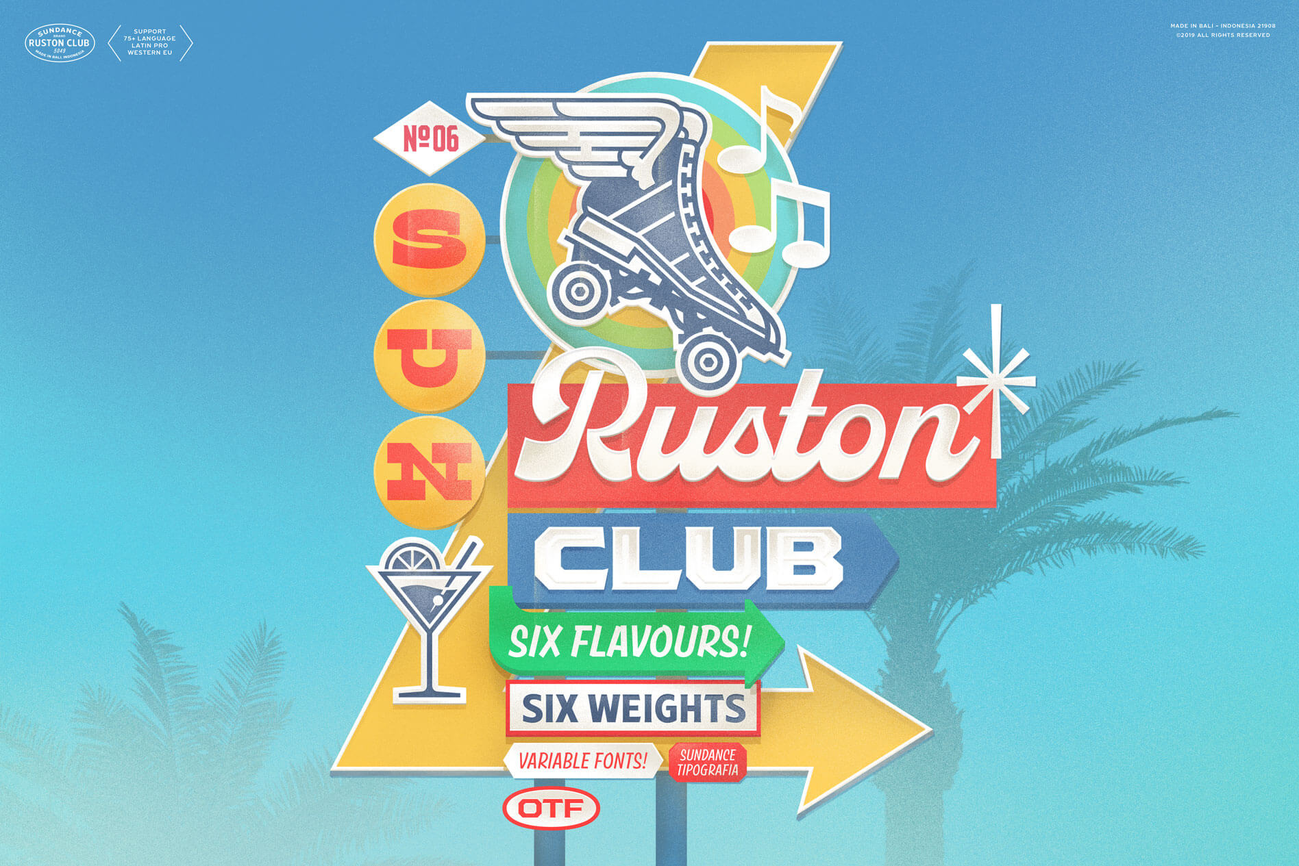 Ruston Font Family: 129 Fun, Personable Fonts – only $9!