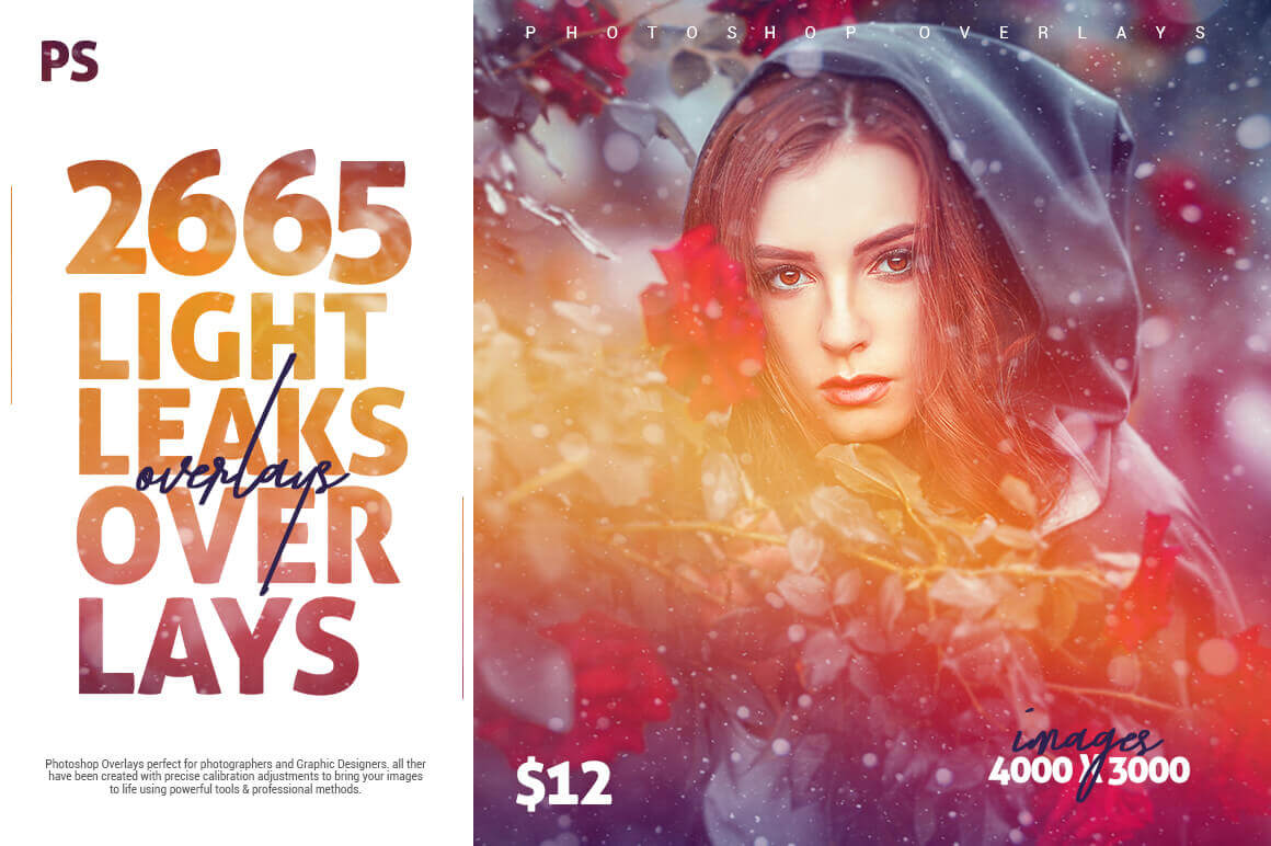 2600+ Light Leak Overlays – only $12!
