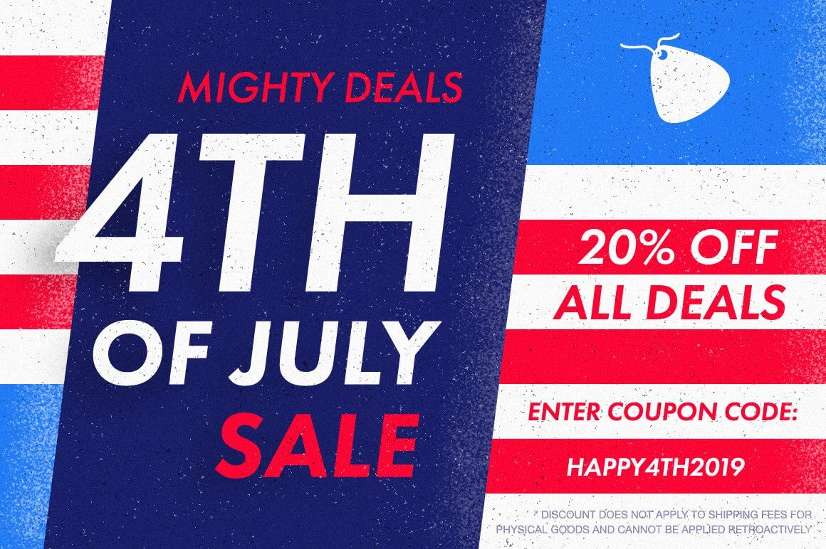 Mighty Deals 4th of July Sale – Get an Extra 20% off ALL DEALS!
