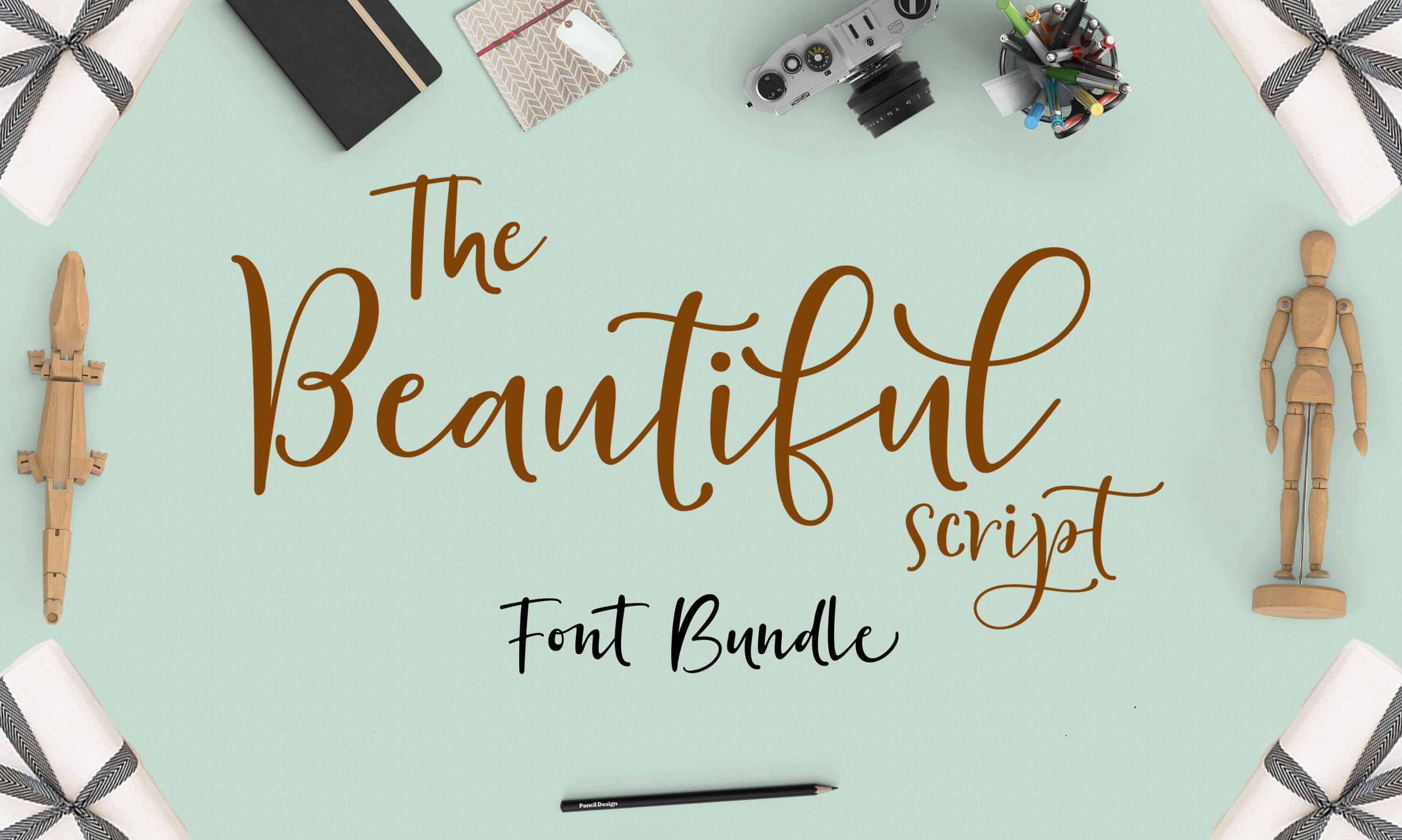 24 Beautiful Script Fonts – only $9!